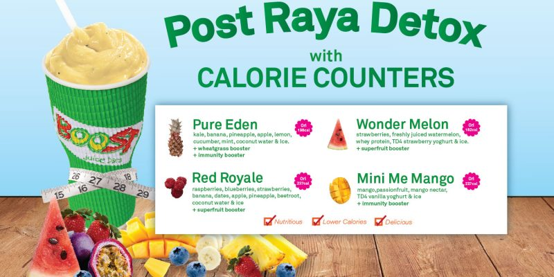 Post Raya Detox – Calorie Counter