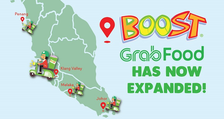 Boost Is Now On GrabFood!