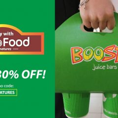 Enjoy 30% off with Grab Food Signature Now!