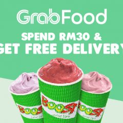 Order Through GrabFood now to Enjoy Free Delivery!