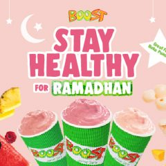 Stay Healthy for Ramadhan with Boost!